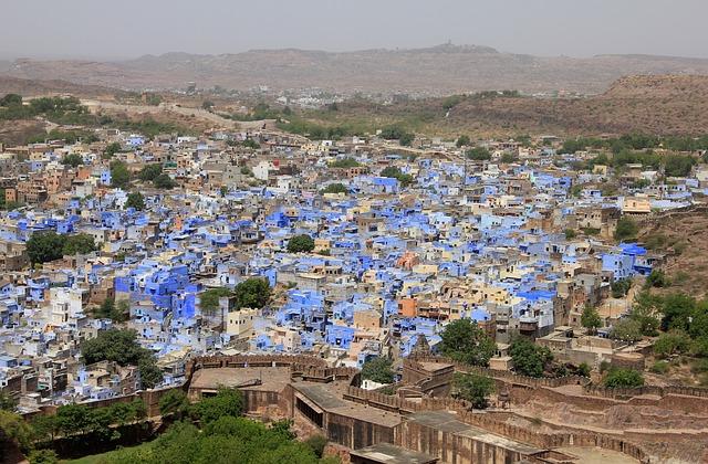 Escapade dans le Rajasthan : découvrir la ville bleue de Jodhpur